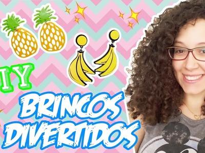 DIY - BRINCO DIVERTIDO - ABACAXI E BANANA - #2 - ft Sah Biscuit