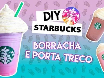 DIYs da STARBUCKS: BORRACHA E PORTA TRECO  Parte 2