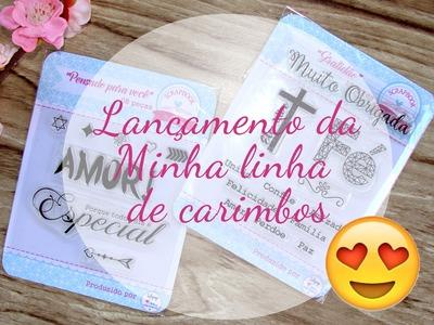 Linha de Carimbos em Português Scrapbook by Tamy