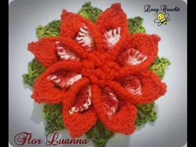 Flor Luanna em Crochê