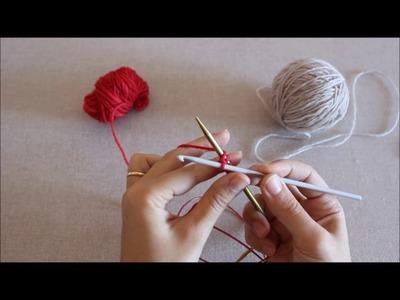 Querido Tricot - Montagem provisória em crochet (crochet provisional cast-on)