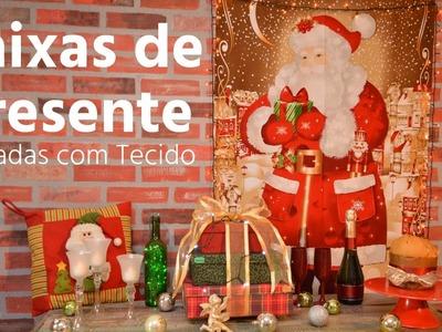 Caixas Para Presente de Natal - DIY