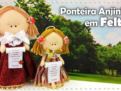 ANJINHO PARA ÁRVORE DE NATAL com Fabi Médico - Programa Arte Brasil - 05.12.2016