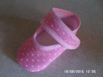 Como fazer sapatinho boneca passo a passo