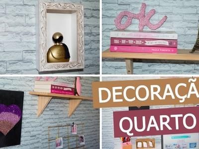 DIY - Ideias FÁCEIS e BARATAS de decoração para o quarto #3