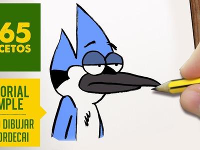 COMO DIBUJAR MORDECAI PASO A PASO - Historias corrientes - How to draw a Mordecai