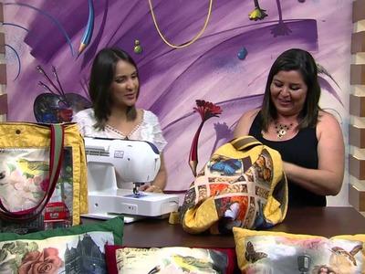 Mulher.com - 02.10.2015 - Bolsa em patchwork - Maura Castro PT2