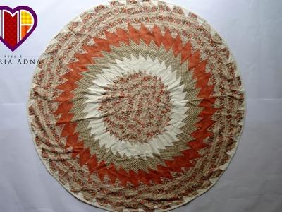 Patchwork - Toalha de mesa em patchwork Riviera - Maria Adna Ateliê