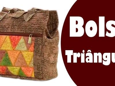 Bolsa Triângulos  | Ana Cosentino | Vida com Arte (01.11.16)