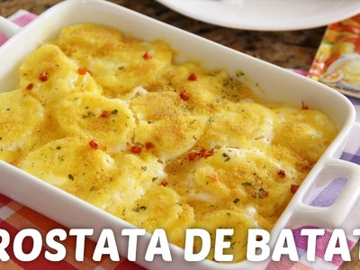 Crostata de Batata - VONO® Receitas de Verão