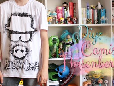 DIY Breaking Bad: Camisa Heisenberg (Walter White) - Super fácil e barato!
