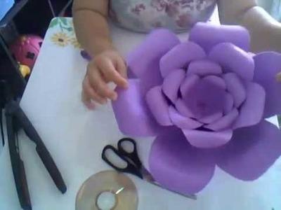 Flor gigante de eva - Rosa