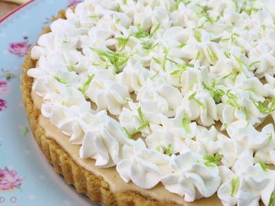 #086 Torta de Limão Fácil com Massa de Biscoito   CozinhandoRapido