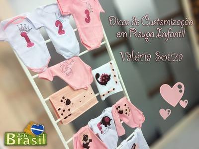 Programa Arte Brasil - 23.01.2015 - Valéria Souza - Dicas de Customização em Roupa Infantil!
