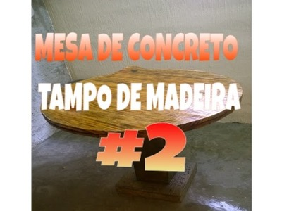 TAMPO DA MESA DE CONCRETO {tampo} - SÉRIE #EXPORAO PARTE 2