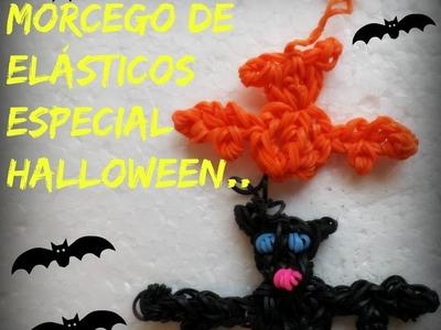 Morcego de elásticos,especial halloween.
