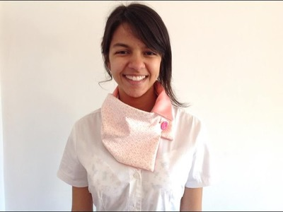 Video aula - Gola de tecido