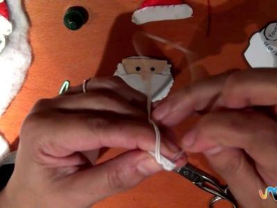 Como fazer Papai Noel em Feltro