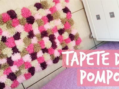 DIY Tapete de PomPom | Maísa Flora