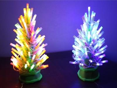 Como fazer uma lâmpada de árvore de natal