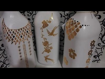 Pintura em garrafa EXCLUSIVA e INÉDITA - Garrafa do Glamour