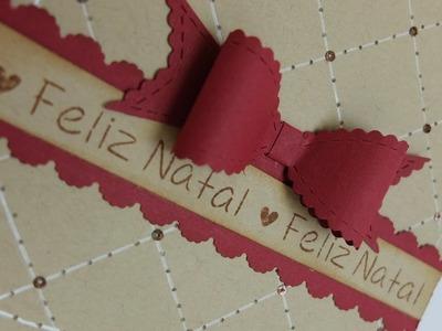 Tutorial - CARTÃO DE NATAL - Christmas Card