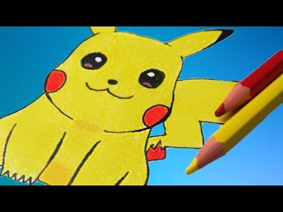 Como desenhar o Pikachu