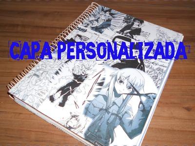 Como Personalizar uma Capa de Caderno