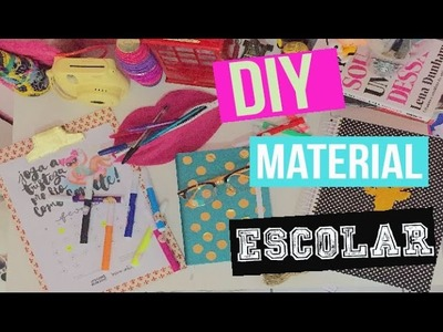 DIY: Material Escolar 2016 | Diy School Supplies 2016