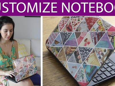 [DIY] Customizando Notebook 2, agora com Revistas - wFashionista