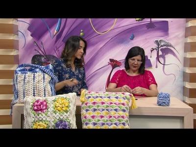 Mulher.com - 21.11.2016 - Crochê - Marta Araújo