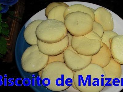 Receita: Biscoito de Maizena (apenas 3 ingredientes)