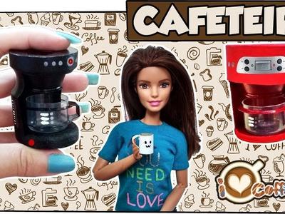 Como fazer: Cafeteira para bonecas Barbie, Monster High, Baby Alive, E.A.H entre outras!