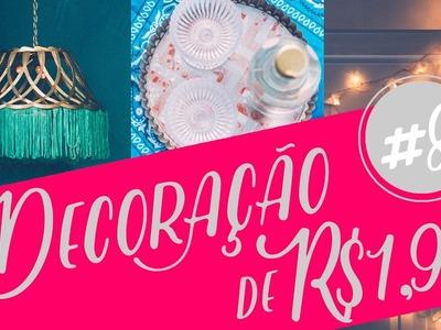 Decoração com objetos de R$1,99 parte 8