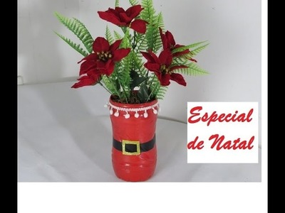 Decoração de Natal - Feito com garrafa pet