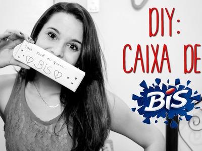 DIY: CAIXA DE BIS # DÊ MAIS PALPITE