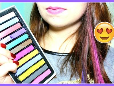 ♡ DIY: Como Fazer Mechas Coloridas (SEM TINTA)