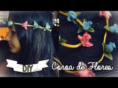 DIY: Coroa de Flores - Um jeito ainda mais fácil de fazer
