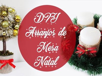 DIY: Como Fazer Arranjos para Decorar a Mesa de Natal  - Fácil e Rápido!