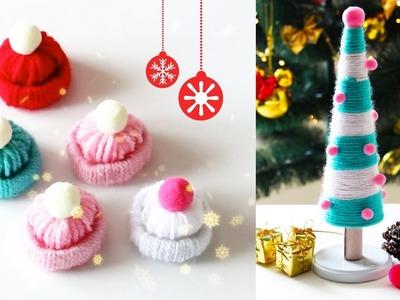 DIY Especial de Natal - Mini árvore + Toquinha | Nanny Ribeiro