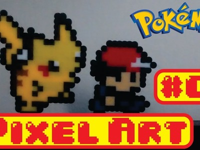DIY - Pixel Art com beads!!!