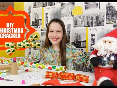 SURPRESA DE NATAL - DIY CHRISTMAS CRACKERS - Julia Silva