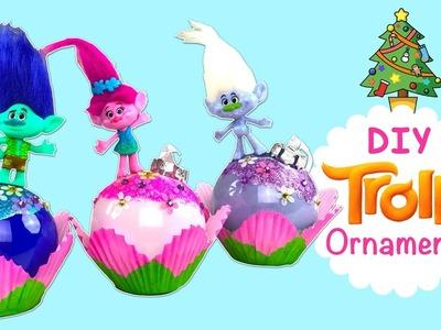 TROLLS ENFEITE DE NATAL! | DIY TROLLS Christmas' ornaments | Holiday Decoration