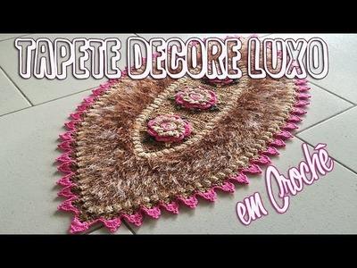 Carpet Crochet - Tapete Decore Luxo em Crochê