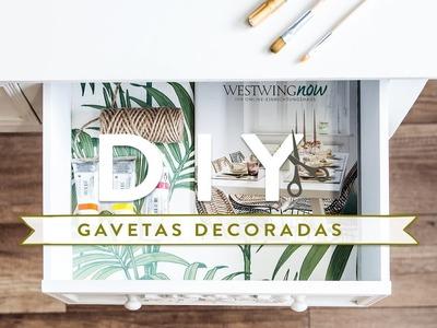DIY: Gavetas decoradas | WESTWING