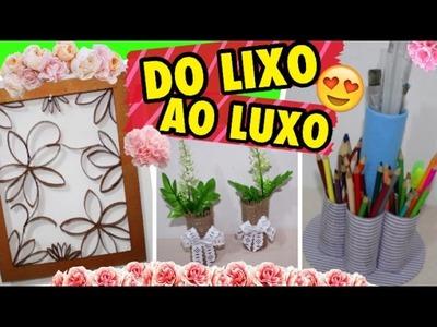 DIYs INCRÍVEIS COM ROLO DE PAPEL HIGIÊNICO - DIY Toilet paper rool crafts