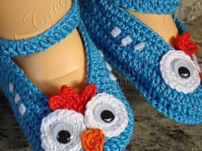 Portifólio - Sapatinhos em crochet feitos por Pérolas do Crochet - Renata Vieira