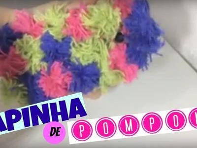 Capinha de POMPOM - DIY faça você mesmo
