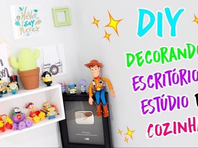 DIY - COMO DECORAR SEU QUARTO E COZINHA - AdsiveShop - #PrihTodoDia15