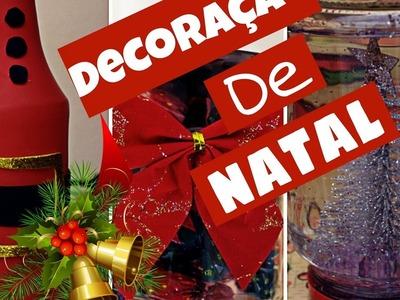 DIY : DECORAÇÃO CRIATIVA DE NATAL FÁCIL